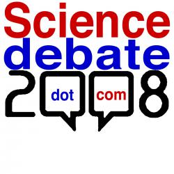 Science debate 2008
