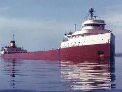 Doomed ship: The SS Edmund Fitzgerald in quieter times.
