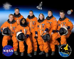 The crew of STS-120: Image courtesy NASA.