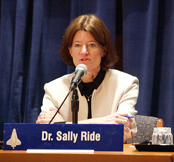 the life and achievements of sally ride Tam o'shaughnessy, sally ride's partner in life and author of a new ride biography, generously offered historians valerie neal and margaret weitekamp and archivist patti williams access to the papers and possessions of the first american woman in space.