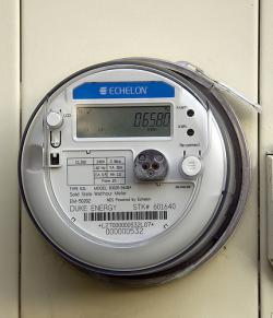 The Einstien Meter: Smart meters are a component of the smart grid infrastructure.  They provide the two-way communication between electricity consumers and providers with the goal of enabling consumers to manage their electricity usage and spending.  The utility providers also benefit by experiencing fewer demand spikes.