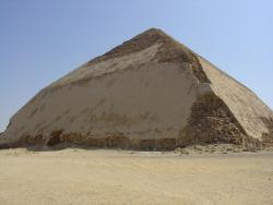 Bending pyramid rules: An engineering adjustment on the fly changed the dimensions of the Bent Pyramid of Dasher, giving the pyramid its unique shape and its name.