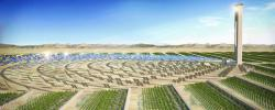 Standing Ovation: The center will heavily concentrate solar power.