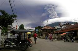 Soputan Volcano erupts in Indonesia