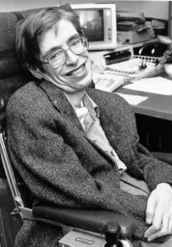 Stephan Hawking has ALS