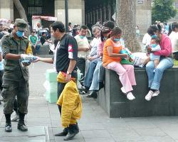 Pandemic prevention in Mexico City