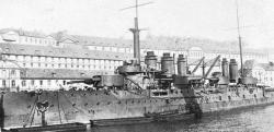 The Danton: The 150 meter long Danton carried about 1,000 men, 296 of whom went down with the ship when it was torpedoed by a German submarine.