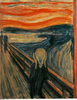 The scream: The reddish sky in the background of this famous painting was possibly caused by the 1883 Krakatoa eruption. The ash that was ejected from the volcano left the sky tinted red in most of Europe and Asia from November 1883 to February 1884.