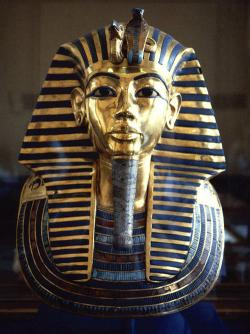 Hot stuff: New testing on a fragment of King Tut's mummy reveals his remains caught fire after being entombed in his sarcophagus.