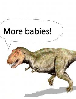 Typical T. rex?: Image modified slightly by JGordon.