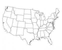 America is growing more science literate.: Free map from geography.About.com