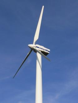 Wind catcher: New wind turbines are getting taller and slower in order to generate more electricity.