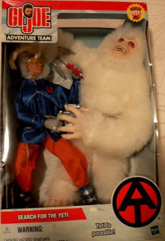 This Yeti was easily found: But not so easily dispatched.