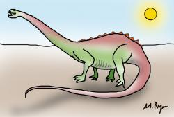 My Draw A Dinosaur Day submission: Just something I whipped up... for my birthday.