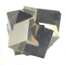 Iron pyrite: Photo by Art Oglesby