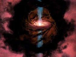 A star is born: Artist conception of a protostar