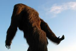 If this werer the Yowie: You would be about one foot tall. How do you like that?