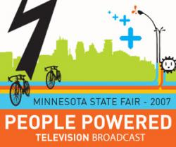 Chain reactions: WCCO-TV will be attempting to power up its newscasts from the Minnesota State Fair from electricity generated by people riding stationary bikes at its fairgrounds studio. Can it be done? Stay tuned to channel 4.