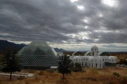 Located in the Arizona desert, Biosphere 2 is capable of simulating environments from rainforests to coral reefs.