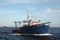 The Blue Heron: the Large Lakes Observatory's research vessel is owned by the University of Minnesota-Duluth.