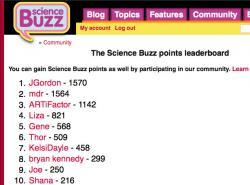Current leaderboard (7-15-10): Notice how I'm only 6 points behind JGordon. That will soon change.