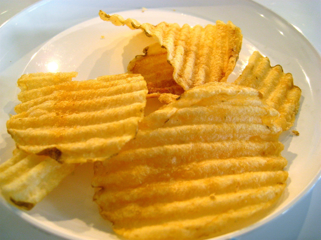 What are chips made of? 12