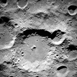 So clear, you can taste the cheese: This image from the Apollo 15 mission is presented here with less than 1% of the resolution the new scans will offer.  Image from NASA / University of Arizona.