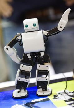 Sure, it can dance, but it can't feel love: A dancing robot, but not actually the Promet.    (photo by Thomas Hawk on flickr.com)