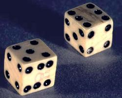 Are life and death just a game?: Mathematics says they follow the same rules. Photo from the National Park Service.