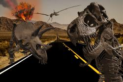 What sent the dinosaurs packing?: The number one suspect, a gigantic asteroid, has finally been convicted of the crime.