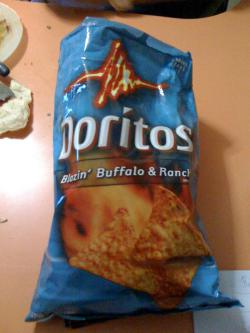 Junk food or junk science?: Six hours worth of advertising for Doritos chips have been beamed out in to space as a signal to other life forms that there's crispy, tasty, good times available on Earth.
