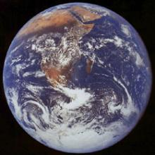 Global Warming: NASA photo of Earth taken from Apollo 17