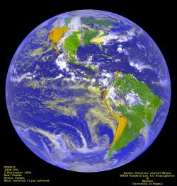 Whither global warming?: As scientists debate the findings, what are we supposed to do? Image from NOAA.