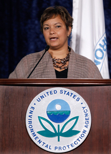 Lisa Jackson: The head of the EPA met with House Republicans recently to discuss carbon regulation.