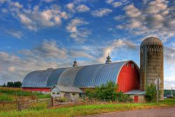 The family farm is home to fewer and fewer families: Photo by chefranden at Flickr.com