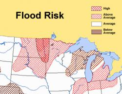 Midwest flood region