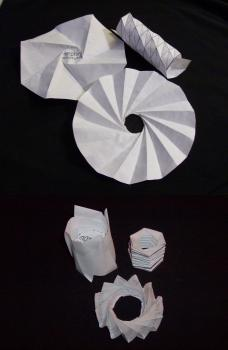 Folding models: Follow the links at the end of the post to make your own!