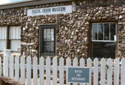 Fossil Cabin Museum entry