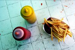 Hold the fries: Fewer school lunch programs are offering unhealthy foods, like French fries, a recent government survey as discovered. It's important since child obesity rates have spiked up in recent years. (Flickr photo by limonada)