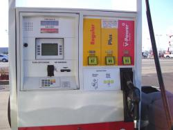 """Pumping less: When the temperatures go up, the volume of fuel you gas you pump into your car goes down according to the """"hot fuel"""" effect of physics. It could cost you between three and nine cents a gallon on hots this summer. (Photo by architeckt2)"""