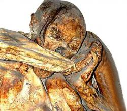 Accidental mummy: This mummy of Ignacia Aguilar, who may have been buried alive in Guanajuato, Mexico, is one of the huge collection of mummies being studied in the Mexican mountain city.