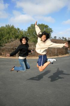 This jump is brought to you by: Joy.