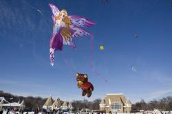Lake Harriet Winter Kite Festival: Minneapolis, MN