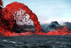 Lava fountain: From the collections of the Hawaiian Volcano Observatory