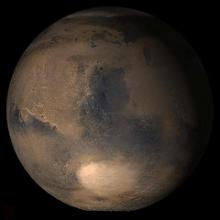Researchers think if Mars ever had water on it, it was early in its lifecycle.