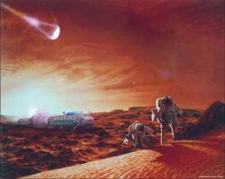 Martian exploration in the near future