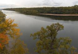 Mississippi River: Water levels in 2012 have dropped to record lows after a season of extreme flooding in 2011.
