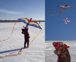Successful kite launch: Up, up, and away!