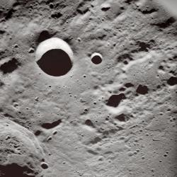 Money for the moon: You can win up to $25 million if you're the first person in the next five years to successfully get a roving craft to the moon and send data back to Earth. Good luck! (Photo courtesy of NASA)