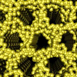 Nano structure self assembly
